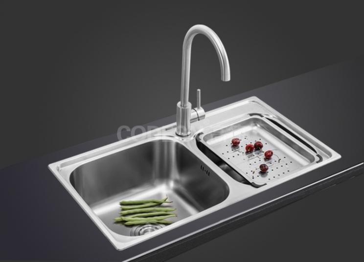 厨房水槽堵塞如何解决?